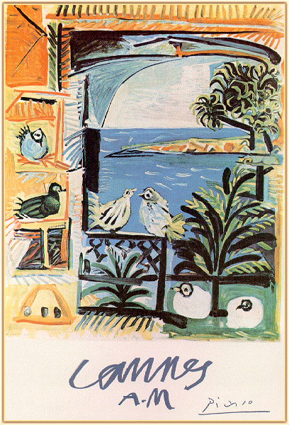 Пабло Пикассо. Канны