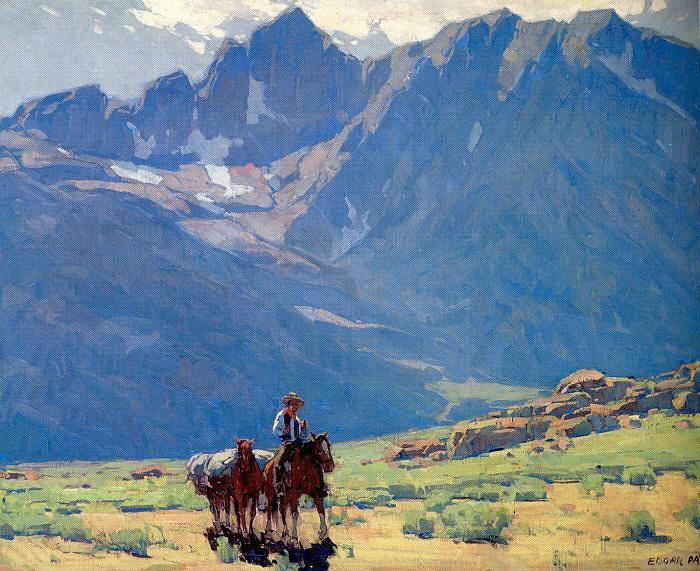 Эдгар Алвин Пейн. Горы