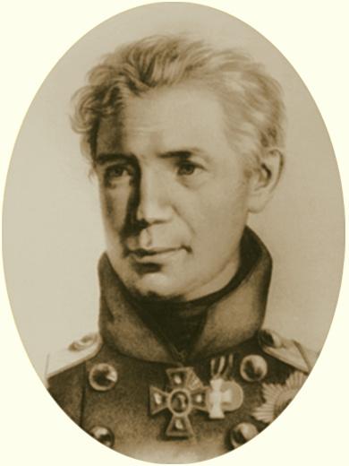 Алексей Петрович Боголюбов. Портрет Крузенштерна