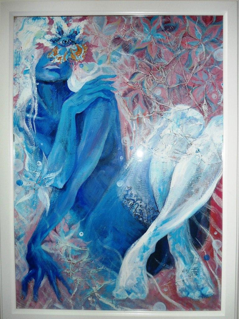 Kamilla Marakulina. In the foam of the sea