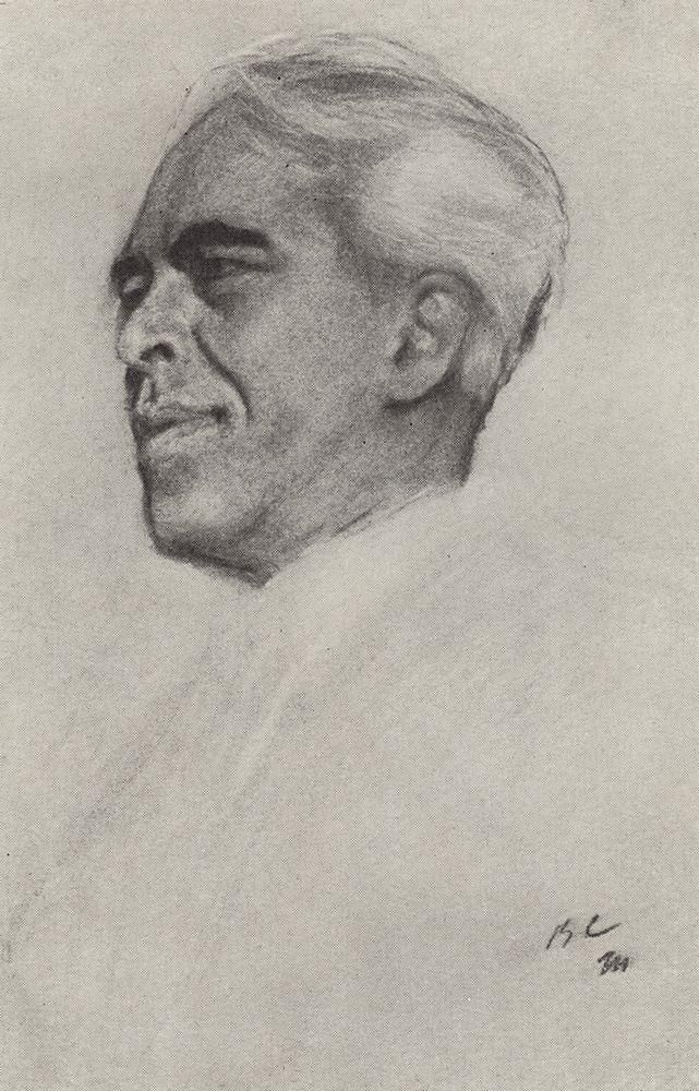 Валентин Александрович Серов. Портрет Станиславского