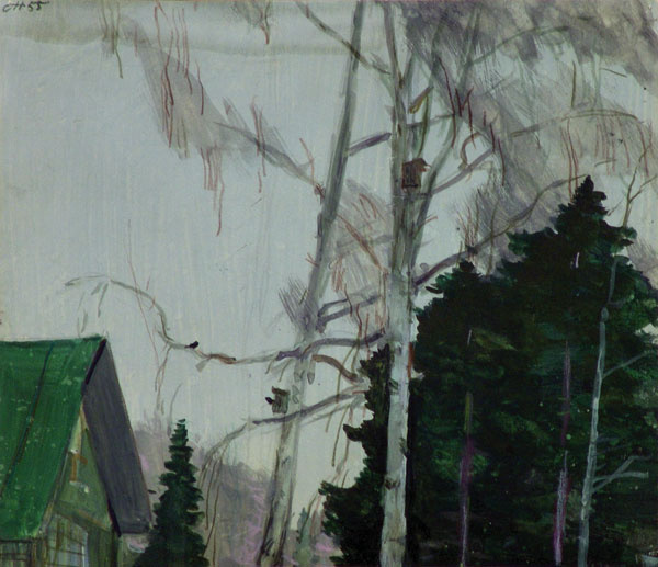 George Grigorievich Nyssa. Early spring