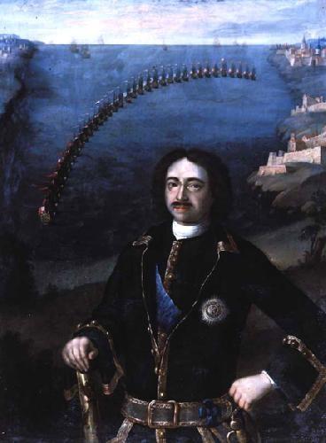 Луи Каравакк. Портрет Петра І