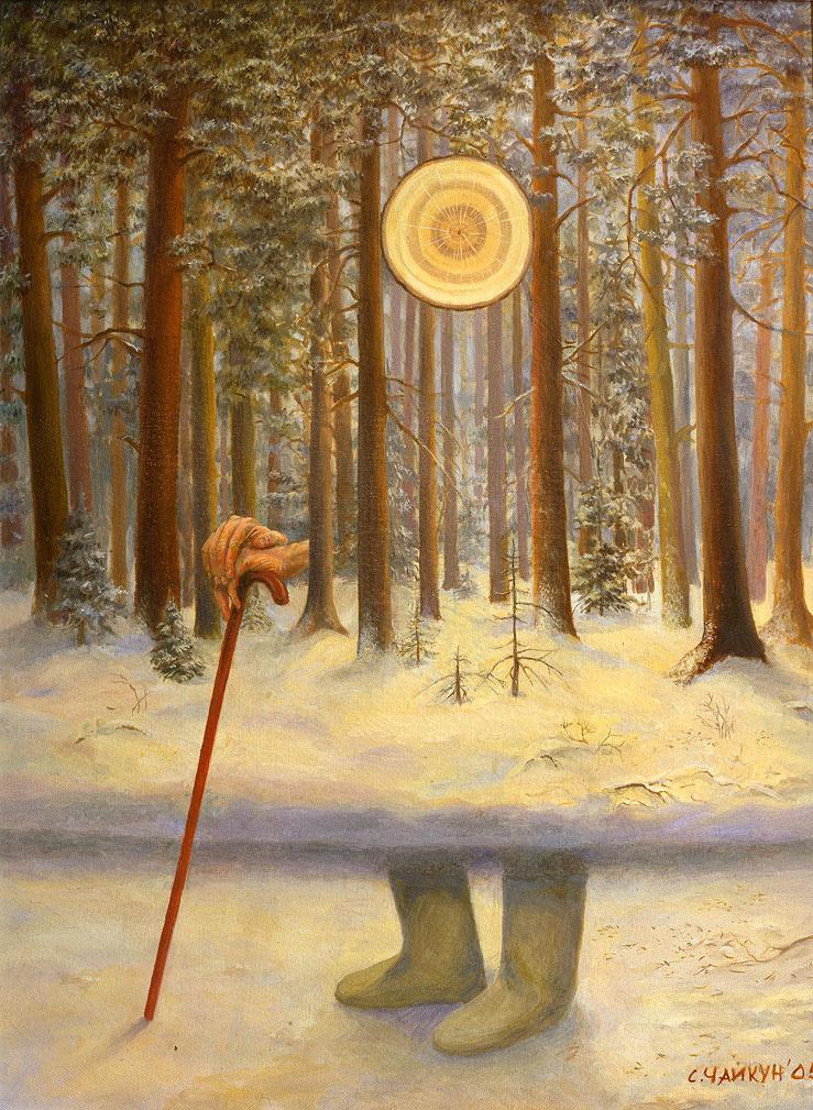 Sergey Chaikun. Light forest