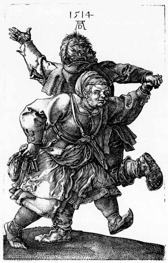 Альбрехт Дюрер. Танцующие крестьяне