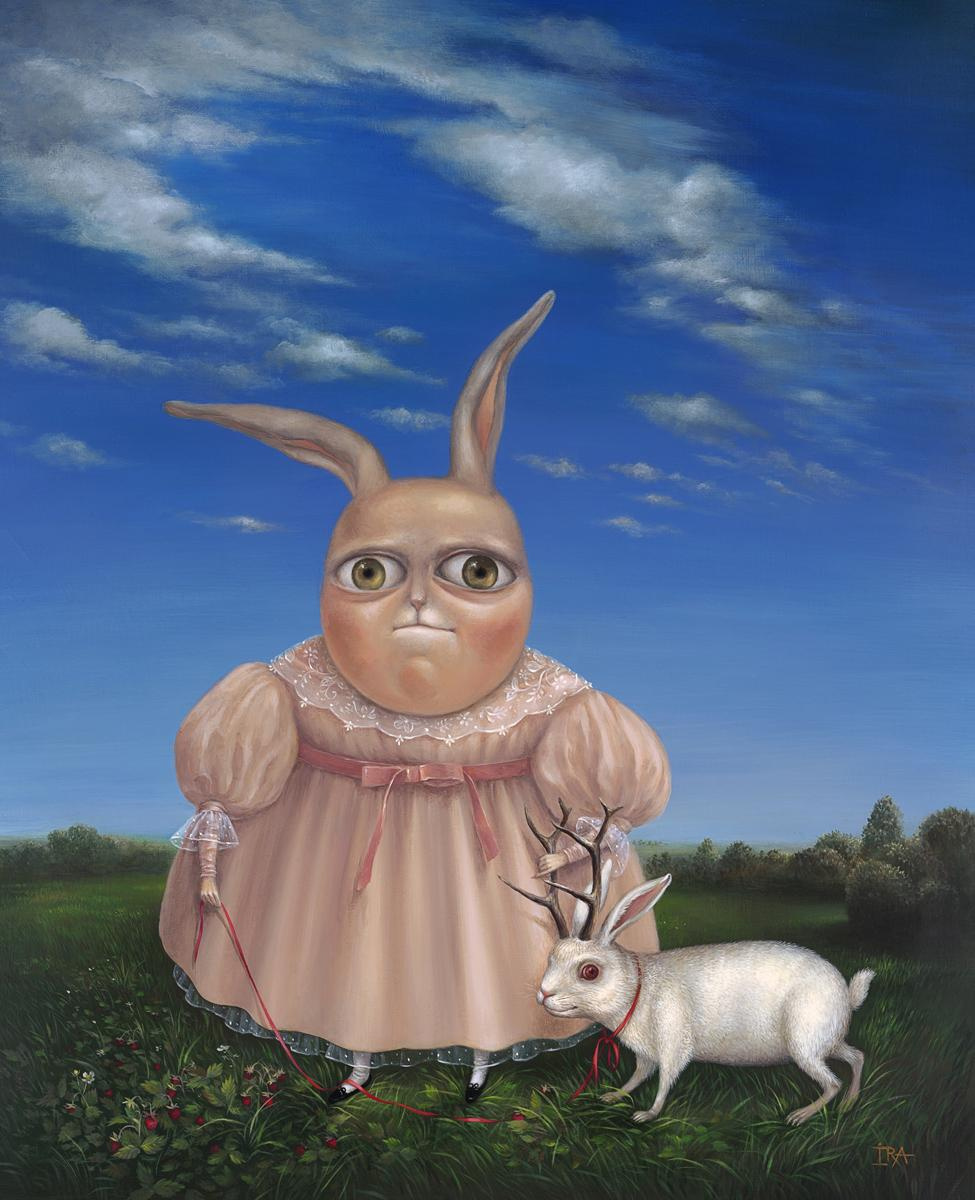 Irena Aizen. Strawberry Meadow