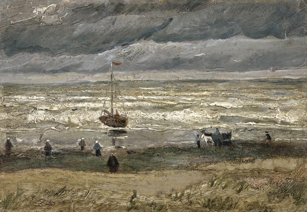 Винсент Ван Гог. Вид на море у Схевенингена