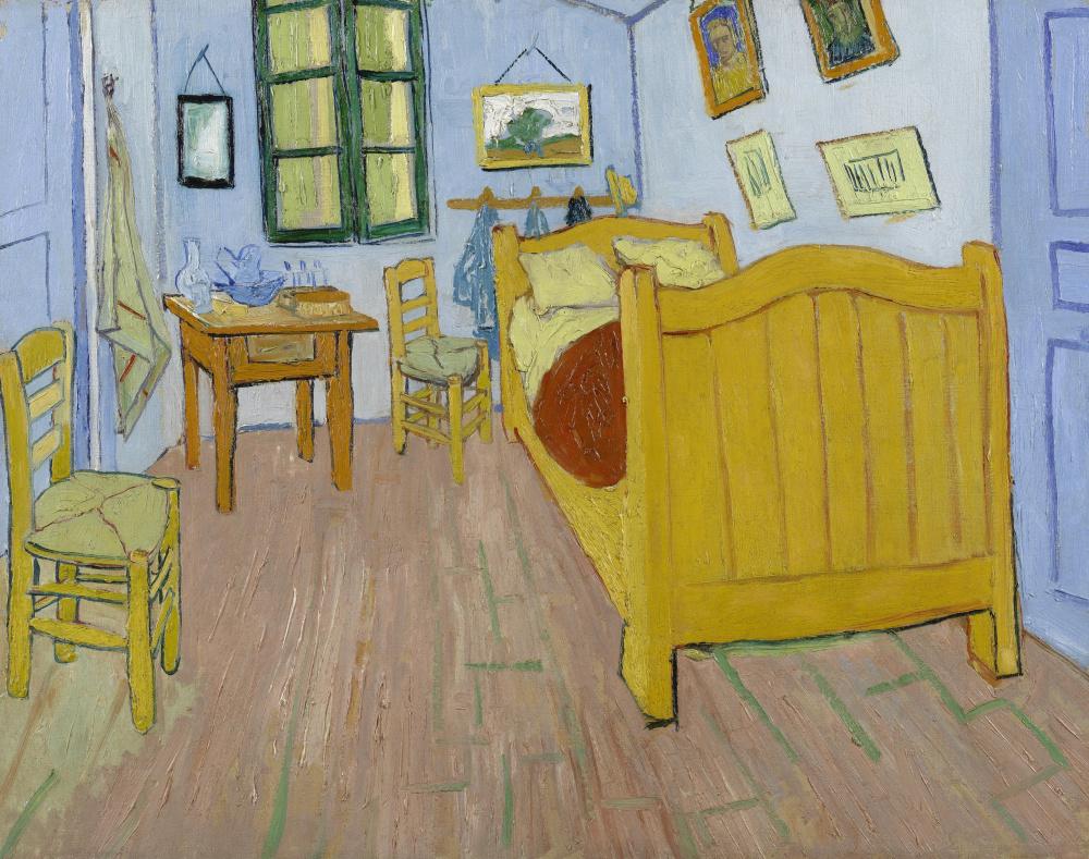 Винсент Ван Гог. Спальня в Арле (первый вариант)
