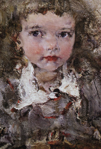 Portrait of the daughter of AI