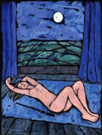 Nude sleeping