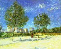 Винсент Ван Гог. Пригород Парижа