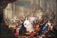 Johann Georg Platzer. Concert at the Palace