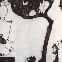 Эгон Шиле. Сливовое дерево