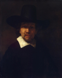 Portrait of the poet Jeremias de Decker