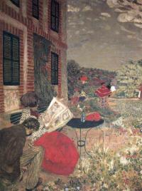 Жан Эдуар Вюйар. Чтение на природе