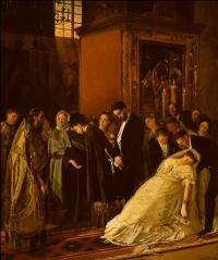 An interrupted wedding (the Bigamist)