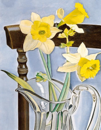 Daffodils and celery