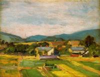 Эгон Шиле. Пейзаж в Нижней Австрии