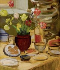 Зинаида Евгеньевна Серебрякова. Завтрак
