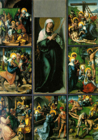 Seven sorrows of the virgin Mary