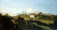 Бернардо Беллотто. Старые укрепления Дрездена