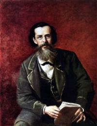 Василий Григорьевич Перов. Портрет Майкова