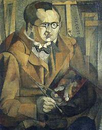 Портрет художника в очках