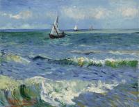 Винсент Ван Гог. Морской пейзаж у Сент-Мари-де-ла-Мер