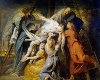 Peter Paul Rubens. The descent from the cross