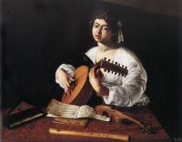 Michelangelo Merisi de Caravaggio. Lute player