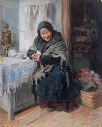 Владимир Егорович Маковский. Прачка