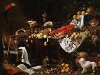Адриан ван Утрехт. Праздничные блюда