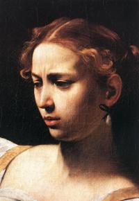 Judith slaying Holofernes. Fragment
