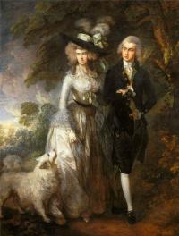 Утренняя прогулка. Портрет сквайра Уильяма Хэллета с супругой Элизабет