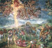 Микеланджело Буонарроти. Обращение Савла