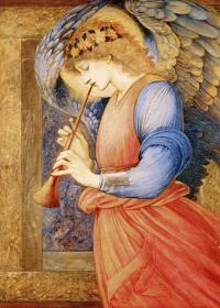 Ангел играет на флаголе