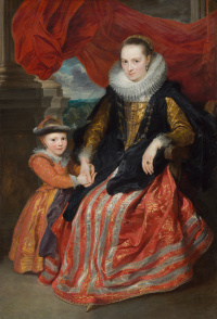 Suzanne Fourment and her daughter
