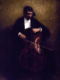 Виолончелист. Портрет Хенри Брамсена