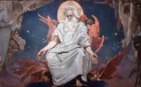 The God Of Hosts. The sketch for the painting of the Vladimir Cathedral in Kiev