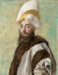 Portrait of the Grand vizier of the Ottoman Empire