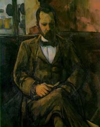 Paul Cezanne. Portrait Of Ambroise Vollard