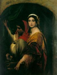 Paul Delaroche. Herodias