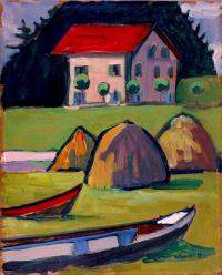 Gabriel Munter. The fisherman's house