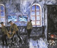 Михаил Федорович Ларионов. Утро в казармах. Мотив из солдатской жизни