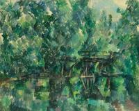 Мост над прудом
