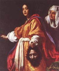 Юдифь и Олоферн, Кристофано Аллори, 1613