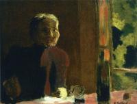Жан Эдуар Вюйар. Мадам Вюйар за столом