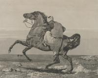 Эжен Делакруа. Турок садится на коня