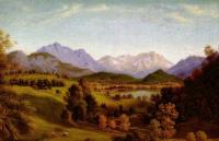 Фердинанд Оливье. Долина Лойзаха