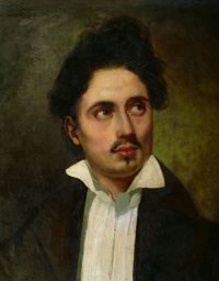 Portrait of Alexander Dumas in my youth